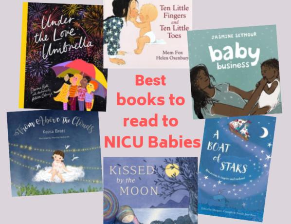 Best books to read to NICU babies - Fierce Grace Publishing